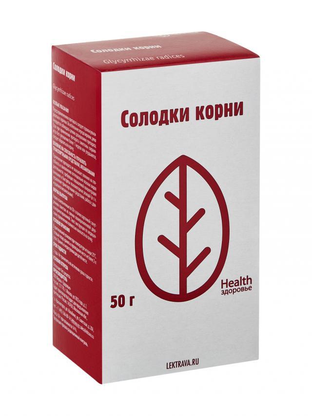 Солодка корни Здоровье 50г купить в Москве по цене от 51 рублей