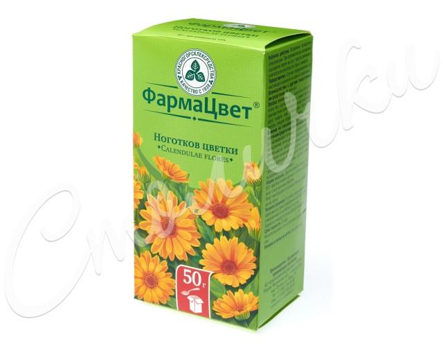 Календула цветки (ноготки) 50г купить в Москве по цене от 92 рублей