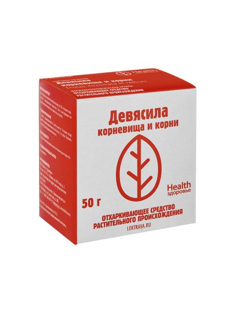 Девясил корневища и корни Здоровье 50г купить в Москве по цене от 54 рублей