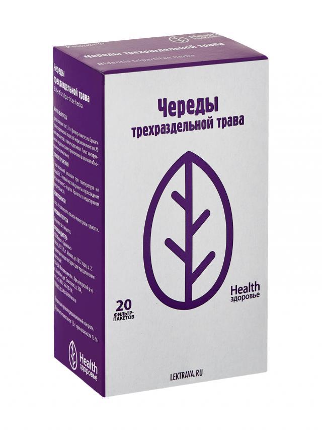 Череда трава Здоровье 1,5г №20 купить в Москве по цене от 49 рублей