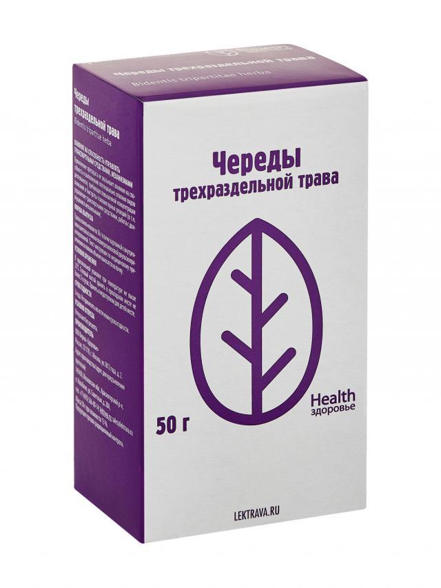Череда трава Здоровье 50г купить в Москве по цене от 55 рублей