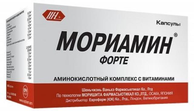Мориамин Форте капсулы №30 купить в Москве по цене от 0 рублей