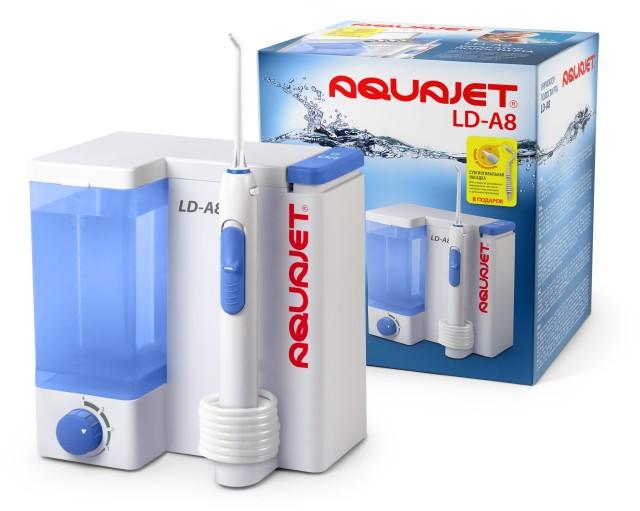 Литл Доктор Ирригатор полости рта Aquajet LD-A8 купить в Москве по цене от 2980 рублей