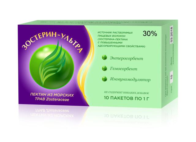 Зостерин Ультра порошок 30% 1г №10 купить в Москве по цене от 455 рублей