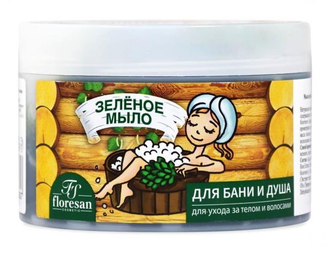 Флоресан мыло д/бани Зеленое 450мл купить в Москве по цене от 0 рублей