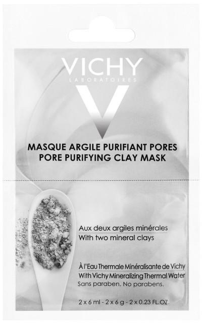 Виши маска для лица очищ.поры 6млх2 купить в Москве по цене от 252 рублей