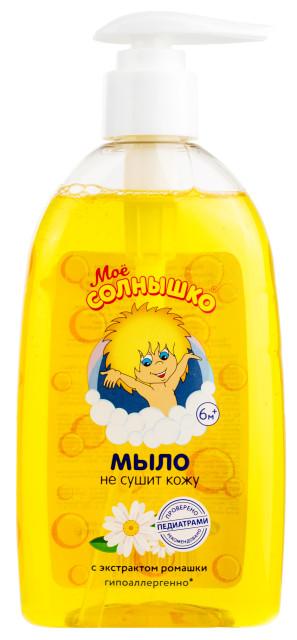 Мое солнышко мыло жидкое ромашка 300мл купить в Москве по цене от 72 рублей