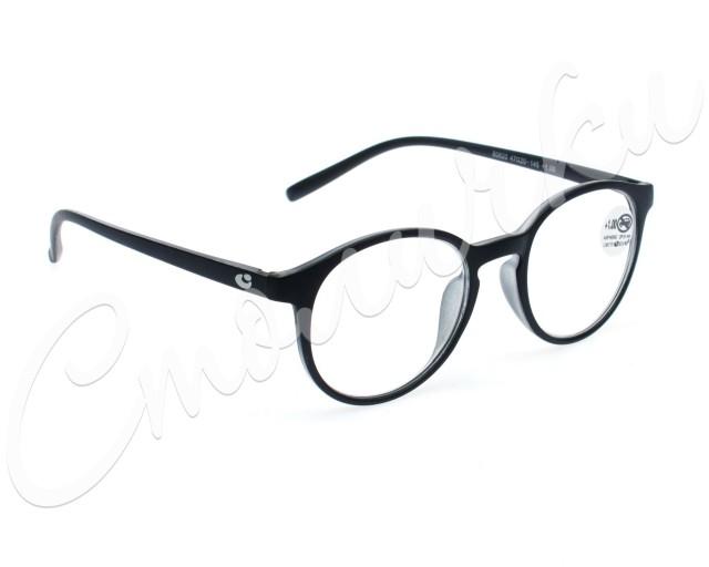 Очки корригирующие черные матовые +1,0 60820 (42700/1) купить в Москве по цене от 746 рублей