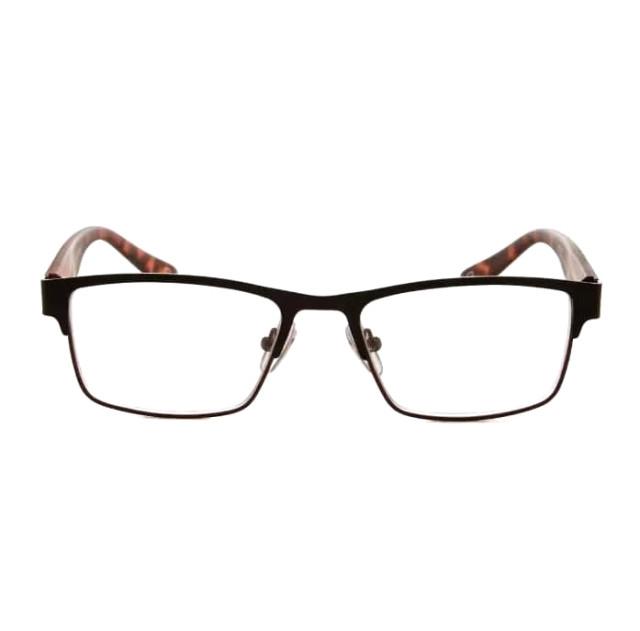 Очки корригирующие коричневые глянцевые +2,0 60794 купить в Москве по цене от 735 рублей