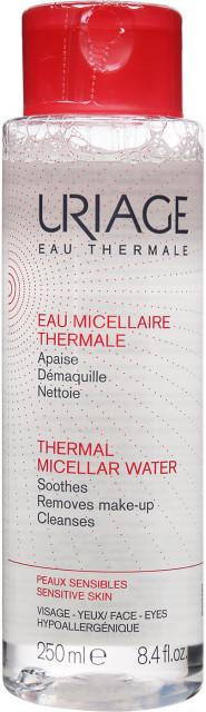 Урьяж вода мицеллярная очищающая для чувствительной кожи 250мл купить в Москве по цене от 909 рублей