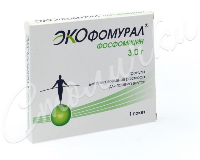 Экофомурал гранулы для приготовления раствора 3г №1 купить в Москве по цене от 463 рублей