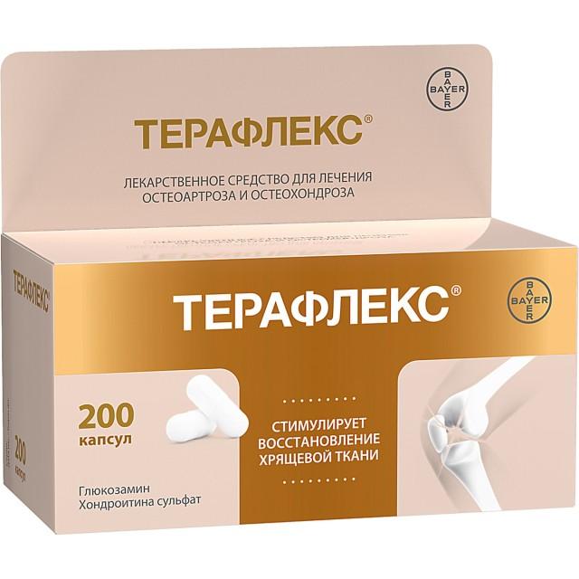 Терафлекс капсулы №200 купить в Москве по цене от 3270 рублей