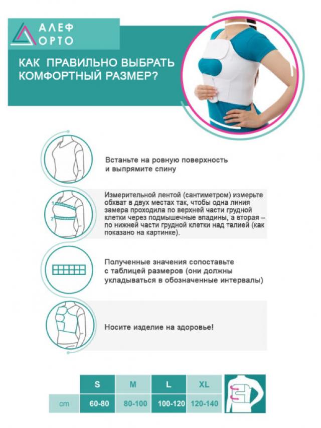 Алеф бандаж послеоперационный на грудную клетку женский XL купить в Москве по цене от 1170 рублей