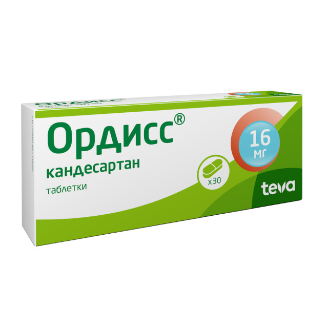 Ордисс таблетки 16мг №30 купить в Москве по цене от 516 рублей