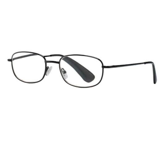 Очки черные металлические круглые +2,0 63408/3 купить в Москве по цене от 603 рублей