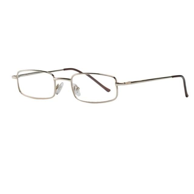 Очки темно-серые металл прямоугольные +2,0 42309/3 купить в Москве по цене от 603 рублей
