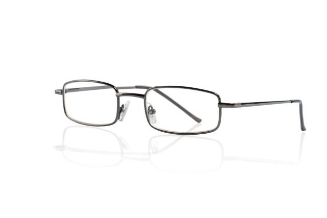 Очки темно-серые металл прямоугольные +3,5 42309/6 купить в Москве по цене от 593 рублей