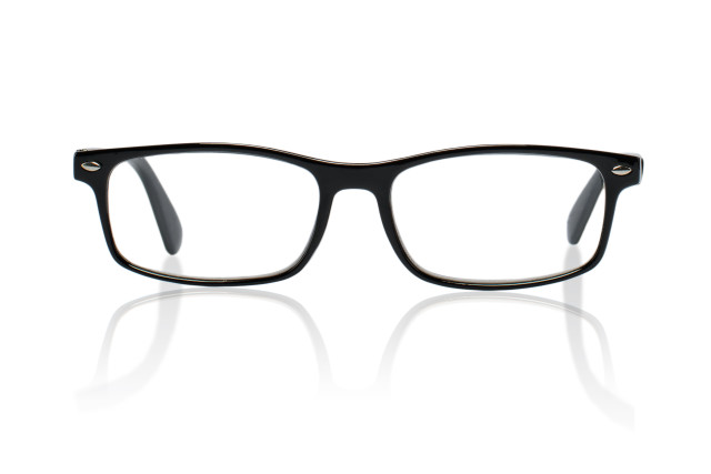 Очки глянцевые черные/пластик +3,0 42698/5 купить в Москве по цене от 591 рублей