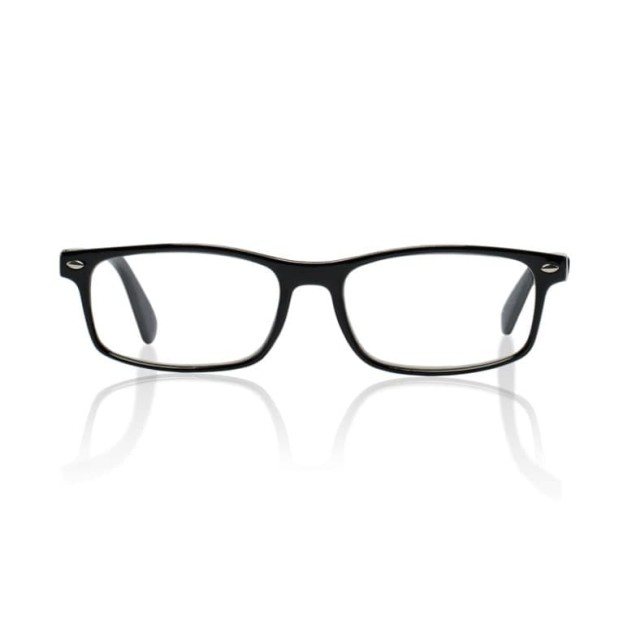 Очки глянцевые черные/пластик +2,0 42698/3 купить в Москве по цене от 589 рублей
