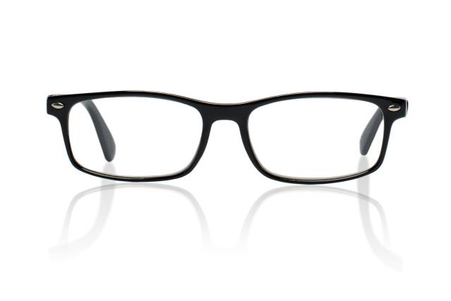 Очки глянцевые черные/пластик +1,5 42698/2 купить в Москве по цене от 579 рублей
