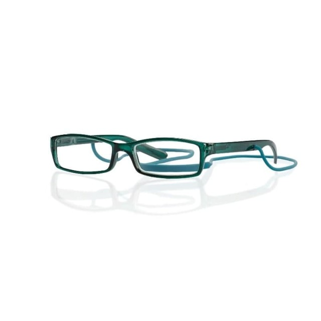 Очки глянцевые зеленые/пластик со шнурком +3,0 42735/15 купить в Москве по цене от 601 рублей
