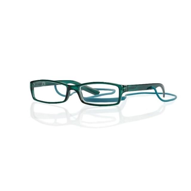 Очки глянцевые зеленые/пластик со шнурком +1,0 42735/11 купить в Москве по цене от 593 рублей
