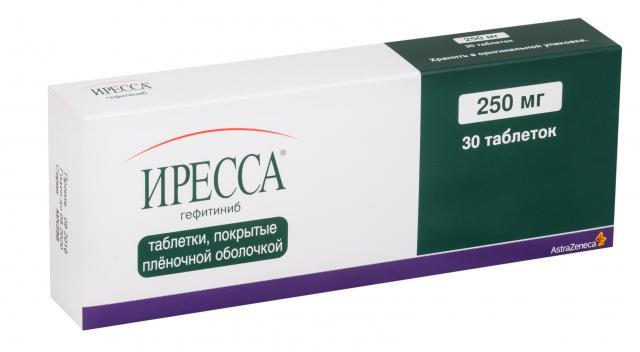 Иресса таблетки 250мг №30 купить в Москве по цене от 0 рублей