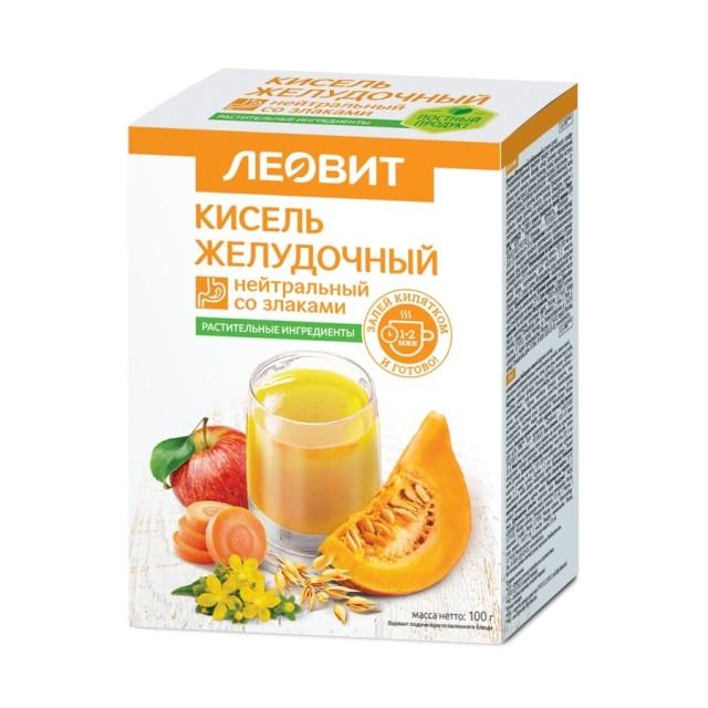 Леовит Кисель желудочный нейтр 20г №5 купить в Москве по цене от 134 рублей
