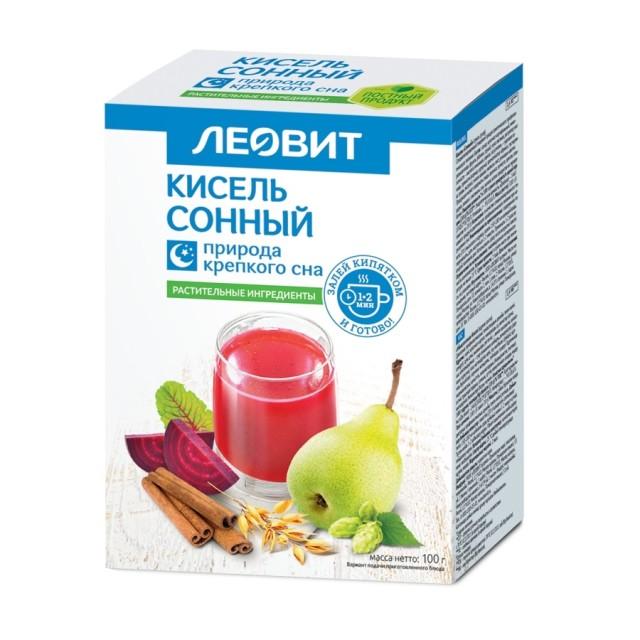 Леовит Кисель сонный 20г №5 купить в Москве по цене от 119 рублей