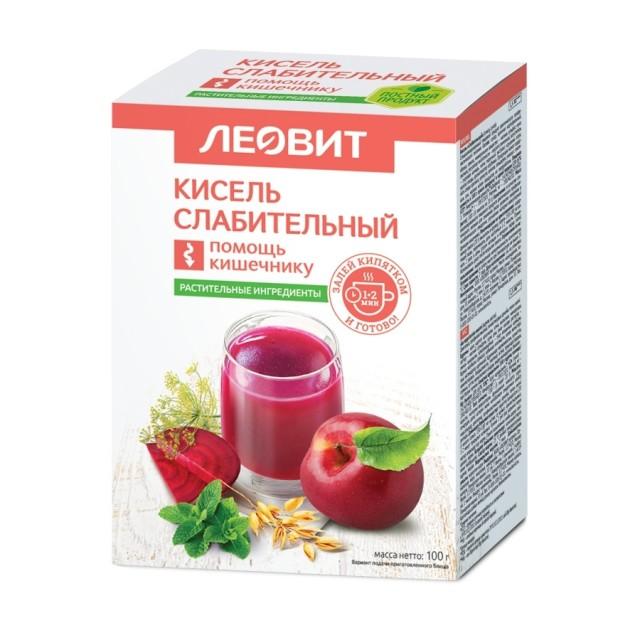 Леовит Кисель слабительный 20г №5 купить в Москве по цене от 135 рублей