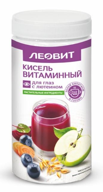 Леовит Кисель витамины для глаз с лютеином 400г купить в Москве по цене от 308 рублей