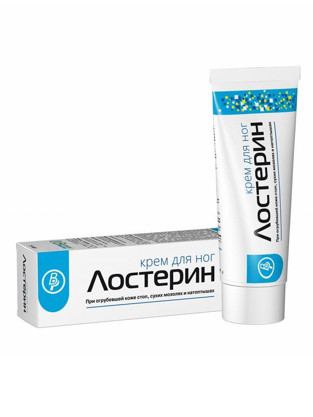 Лостерин крем для ног 75мл купить в Москве по цене от 507 рублей