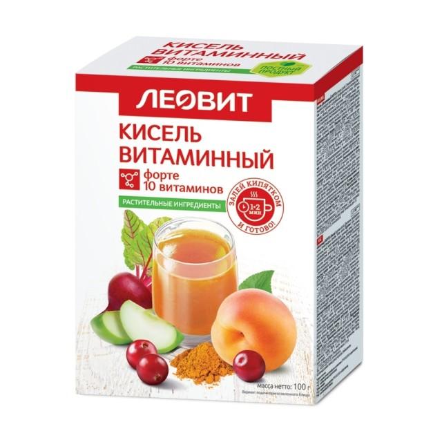 Леовит Кисель витаминный форте 20г №5 купить в Москве по цене от 135 рублей