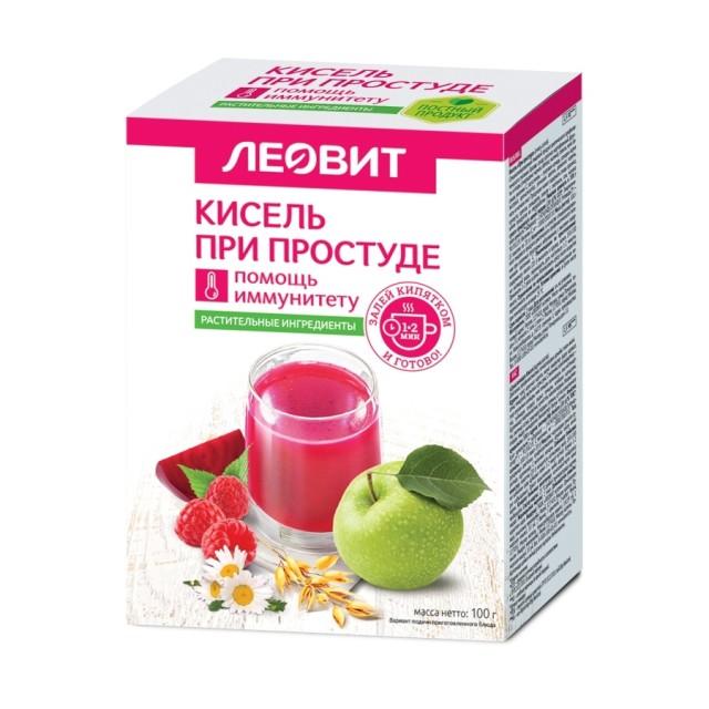 Леовит Кисель при простуде 20г №5 купить в Москве по цене от 145 рублей
