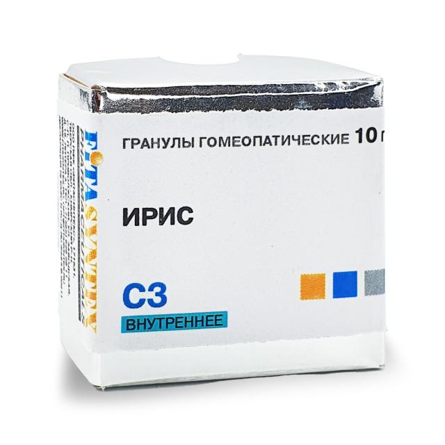 Ирис Версиколор (Ирис) С-3 гранулы 10г купить в Москве по цене от 0 рублей