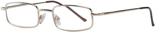 Очки золотые металл полукруглые +2,0 90295/9 купить в Москве по цене от 604 рублей