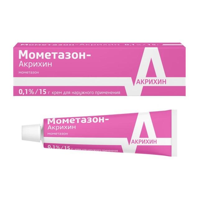 Мометазон крем 0,1% 15г купить в Москве по цене от 79 рублей