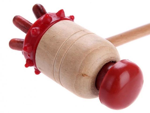 Массажер-колотушка антицел. Ёжик 427283 купить в Москве по цене от 219 рублей
