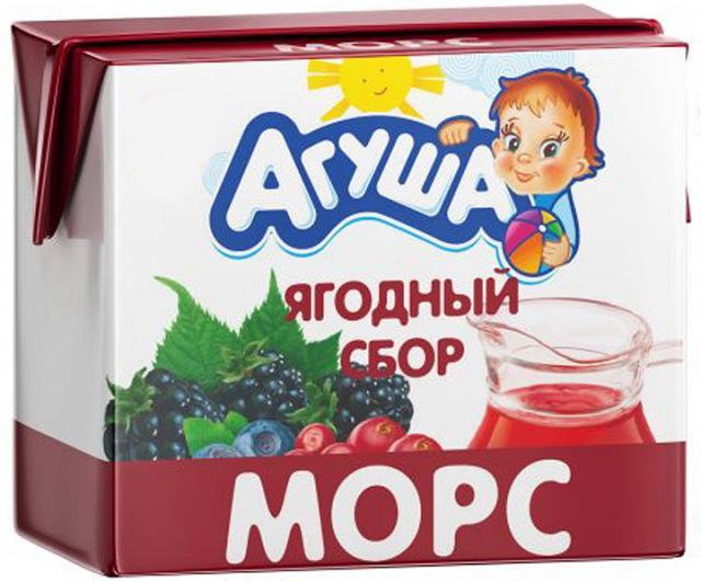 Агуша морс лесные ягоды 200мл купить в Москве по цене от 0 рублей
