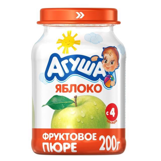 Агуша пюре яблоко 200г купить в Москве по цене от 0 рублей