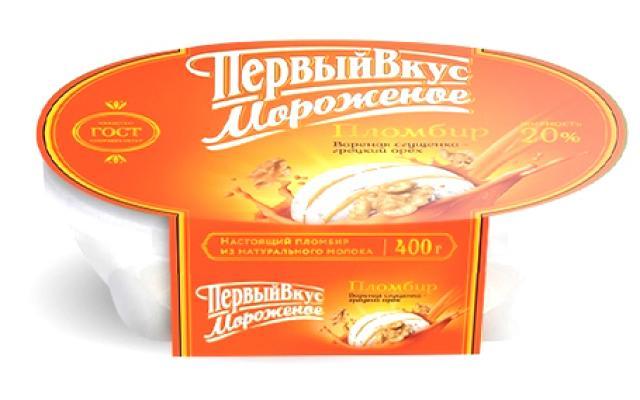 Биомороженое Первый вкус ванночка сгущ.молоко/грец.орех 400г купить в Москве по цене от 0 рублей