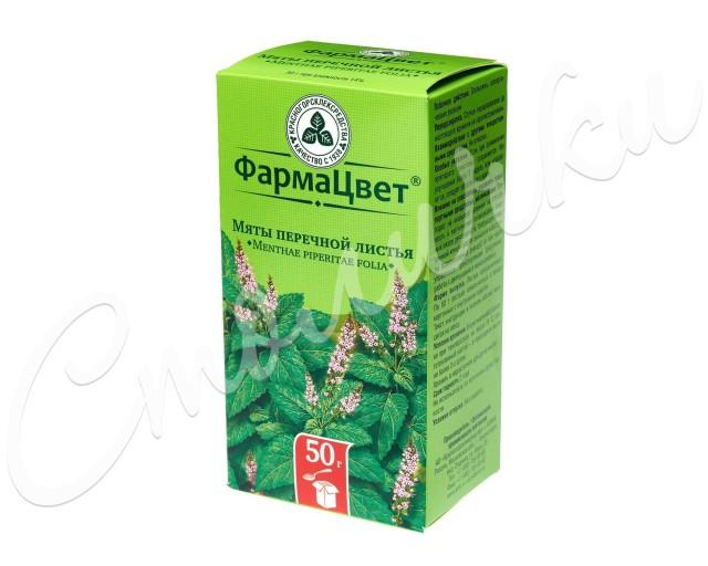 Мята перечная листья 50г купить в Москве по цене от 58 рублей