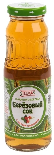 Сок Березовый Шиповник 0,25л купить в Москве по цене от 65 рублей