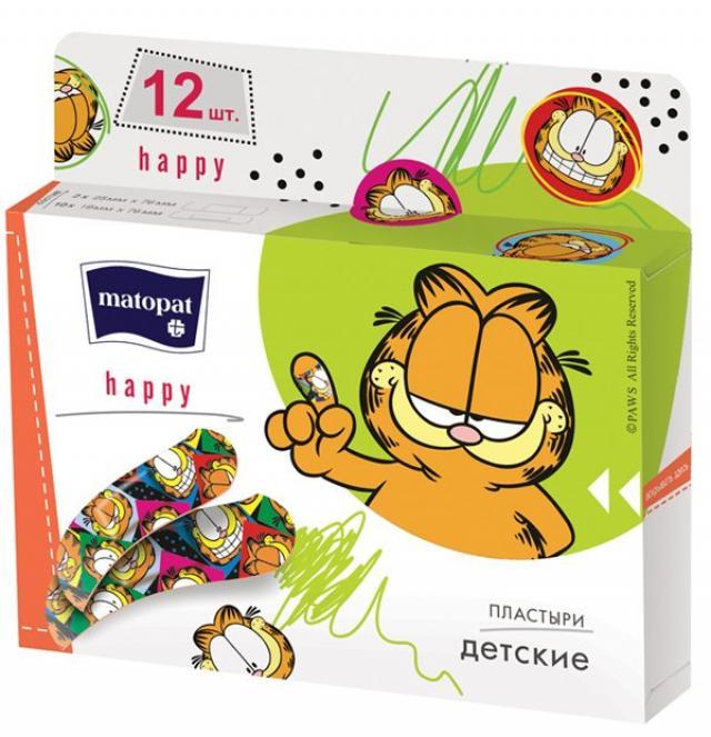 Матопат пластырь Хэппи №12 купить в Москве по цене от 98 рублей