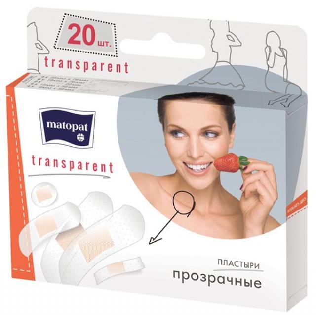 Матопат пластырь Трансперент №20 купить в Москве по цене от 119 рублей