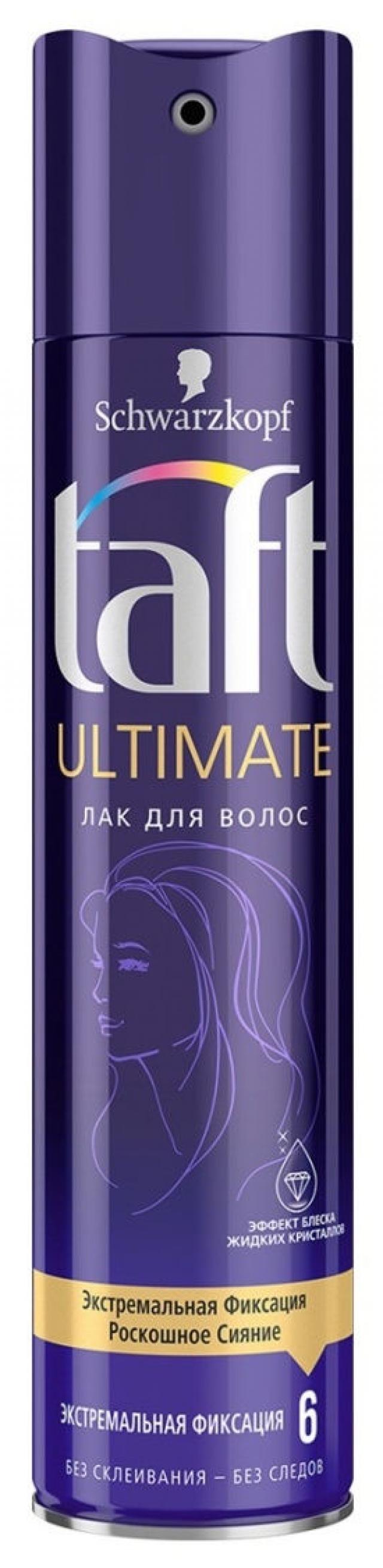 Тафт лак для волос Гиперфиксация Ультимат 225мл купить в Москве по цене от 0 рублей