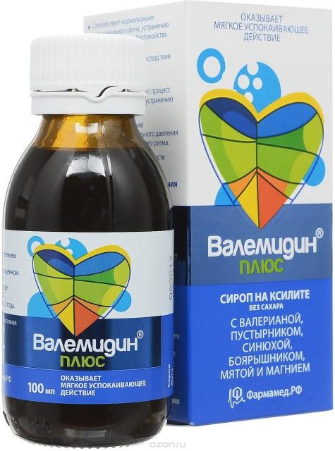 Валемидин плюс сироп 100мл купить в Москве по цене от 316 рублей
