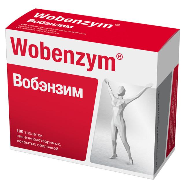 Вобэнзим таблетки п.о №100 купить в Москве по цене от 1310 рублей