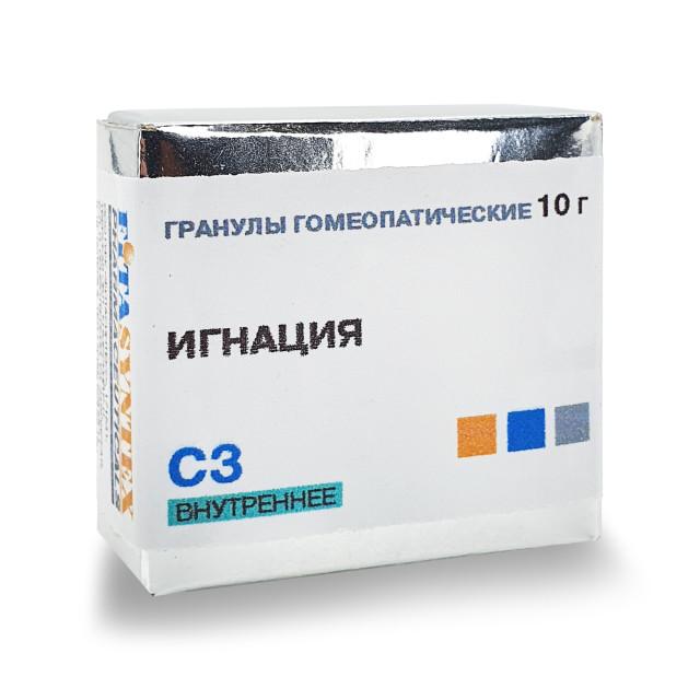 Игнация С-3 гранулы 10г купить в Москве по цене от 191 рублей