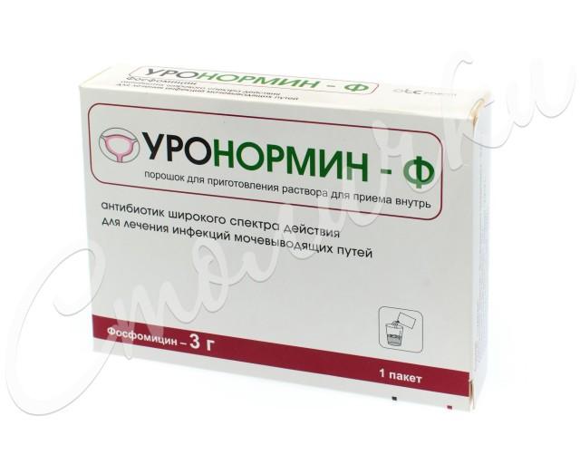 Уронормин-Ф гранулы для приготовления раствора 3г №1 купить в Москве по цене от 420 рублей
